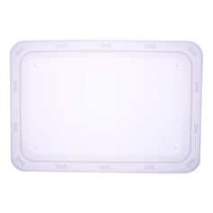 Bone 'n Up for Dinner Tray, Non Slip, Clear