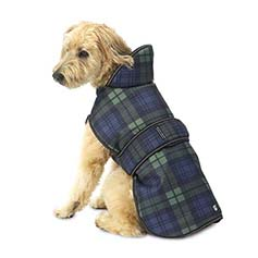 Kodiak Coat with Poly Cotton Lining, Green Plaid