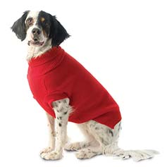 Baxter's Basic Sweater, Red