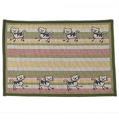 Silly Kitty Tapestry Mat 13