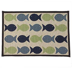 Kool Fishies Tapestry Mat 13