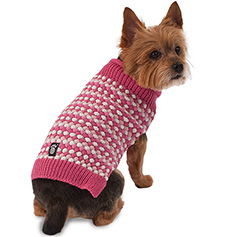 Popper's Sweater, Pink Multi