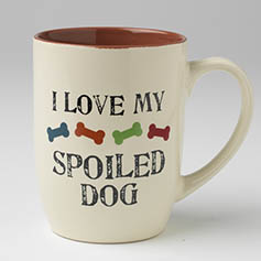 Spoiled Dog Mug, Natural Multi, 24oz