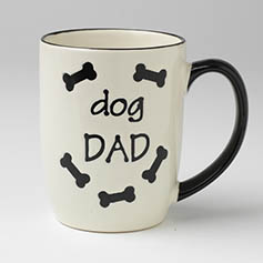 Dog Dad Mug, Natural, 24oz