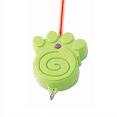 THINKRAGEOUS Laser Paw Pointer, Lime Green