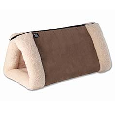 Jasper's 2-in-1 Travel Mat Mocha/Cream, 33.8