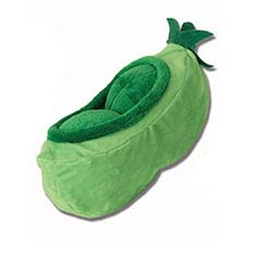 TreatRageous Peapod Hide-a-Treat Plush Toy, 9