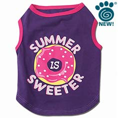 Summer is Sweeter Graphic Tee, Purple