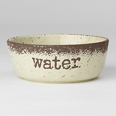 Crockery WATER, Natural Speckled, 6