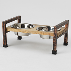 Martinique Diner, Natural/Rubbed Bronze, 12.125