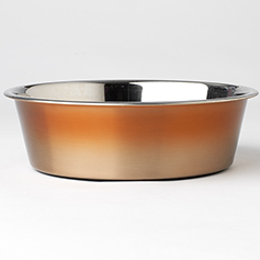Malta Copper Ombre Bowl, 2 quart