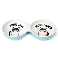 Grumpy Cat AWFUL FOOD/WATER 10