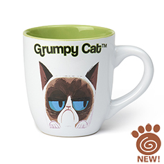 Grumpy Cat Mug, White 18oz