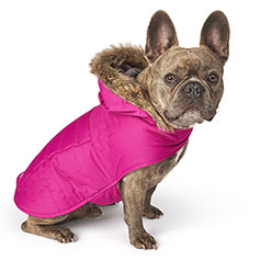 Eddie Bauer PET, Chinook Hooded Parka, Fuchsia