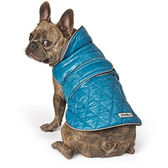 Eddie Bauer PET, Friday Harbor Reversible Vest, Teal/Gray