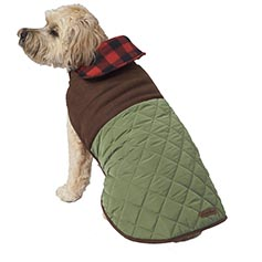 Eddie Bauer PET, Quilted Barn Jacket, Sprig Green