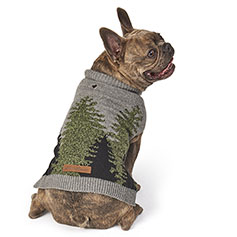 Eddie Bauer PET, Treeline Sweater, Gray/Green