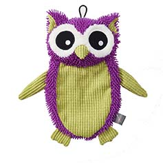 Stuffless Plush Owl, 16