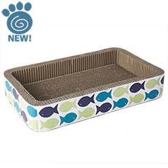 Kool Fish Corrugated Scratcher, 20