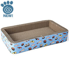 Sushi Time Corrugated Scratcher, 20