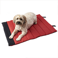 Eddie Bauer Roll Up Travel Bed, Red - Large 40