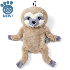 Stuffless Plush Sloth, 14